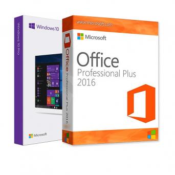 Windows 10 Pro + Office 2016 Pro