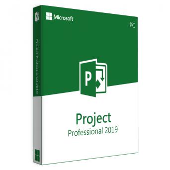 Microsoft Project Professional 2019 RU электронная лицензия 32/64 bit