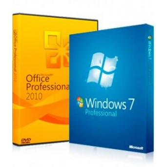 Windows 7 Pro+MS Office 2010 Pro Plus электронные лицензии