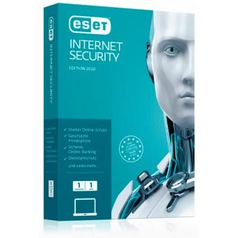 Антивирус Eset Nod32 internet security (1ПК/1 год) только лицензия