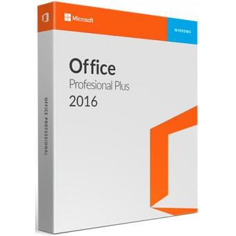 Microsoft Office 2016 Professional Plus RU электронная лицензия 32/64 bit