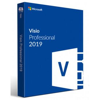 Microsoft Visio Professional 2019 RU лицензия 32/64 bit