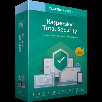 Антивирус Kaspersky Total Security (1 ПК/1 год) только лицензия