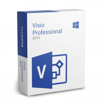 Microsoft Visio Professional 2016 RU электронная лицензия 32/64 bit