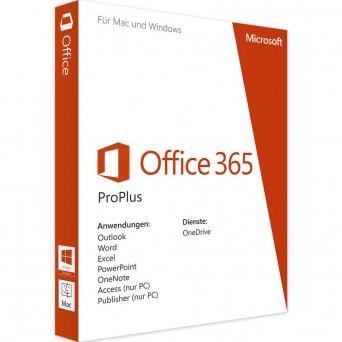 Новый аккаунт MS Office 365  Pro Plus для 5 устройств