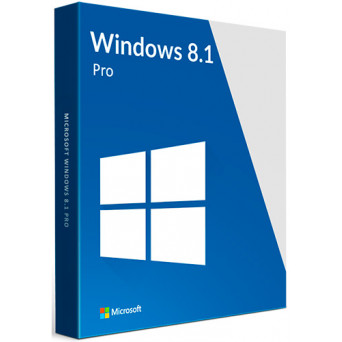 Microsoft Windows 8.1 Professional RU  x32/x64 (бессрочная лицензия) только лицензия